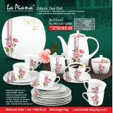 Brilliant 24pcs Tea Set