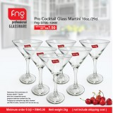 FNG Pro Cocktail Glass Martini 10oz  (6 biji hanya RM 45.00)