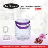 Glass Container 2600ml