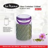 Glass Container 3500ml