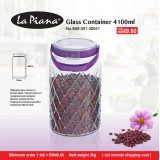 Glass Container 4100ml
