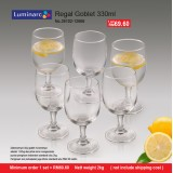 Luminarc Regal Goblet 330ml