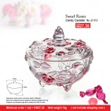 Sweet Roses Candy Canister