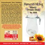 Honey/Oil Jug 600ml ± (H15cm x D8cm)