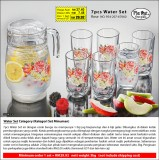 Rose 7pcs Water Set