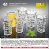 Diamond Long Drink Tumbler (2 set hanya RM 48.00)