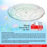 """Floral Round Platter 8"""""""