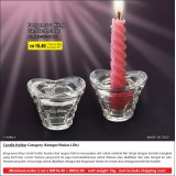Borgonovo King Candle Holder ( 2 set Hanya RM32.80 )
