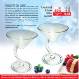 Cocktail Glass 200ml (2 biji hanya RM17.90)