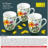 Bunga Kuning English Style Coffee or Tea Mug (3 biji  hanya RM29.76)