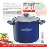Grand Bleu Dutch Oven 8.3L