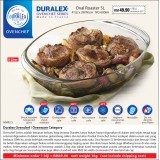 Duralex Ovenchef Oval Roaster 5L