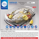 Duralex Ovenchef Oval Roaster 3.1L