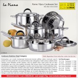 Rome 10pcs Cookware Set