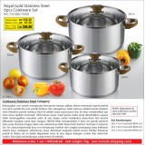 Royal Gold 6pcs Cookware Set