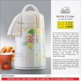 Air Pot 2.5L Corak Bunga