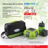 Paloma 6pcs Set Lunch Kit  Green