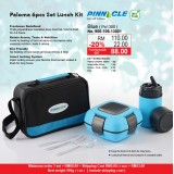 Paloma 6pcs Set Lunch Kit Blue