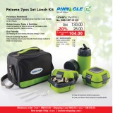 Paloma 7pcs Set Lunch Kit  Green
