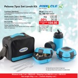 Paloma 7pcs Set Lunch Kit Blue