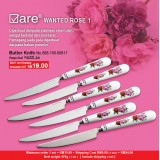 Wanted Rose 1 Butter Knife